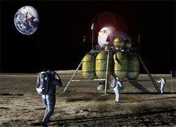 NASA ищет воду на Луне