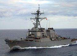Эсминец ВМС США отправлен на перехват судна КНДР