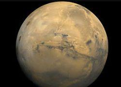 Ученые нашли следы высохшего озера на поверхности Марса