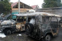 Взрыв на ингушской АЗС