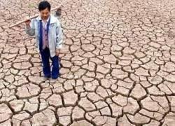 Тибет поразила небывалая засуха