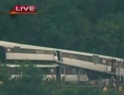 В метро Вашингтона столкнулись два поезда