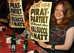 Пиратская партия завоевывает Восточную Европу