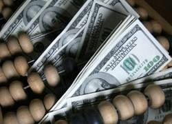 Поступления налогов в бюджет России упали на треть