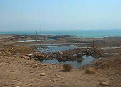 Провалы на берегах Мертвого моря засасывают людей