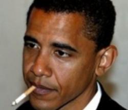 Обама признался в курении