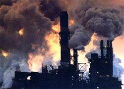 Россия увеличит вредные выбросы в атмосферу