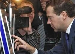 Медведев утвердил обязательные телеканалы в России