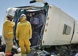 В Индии автобус упал в ущелье, погибли 25 человек