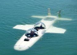 Американцы скрестили самолёт с подлодкой