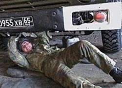 Пьяные контрактники в Осетии раздавили офицеров ФСБ