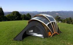 Разработана светящаяся палатка будущего