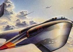 В США воссоздан гитлеровский истребитель-невидимка