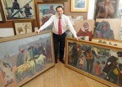 Британец нашел на чердаке собрание картин на $165 тысяч