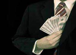 Коррупция в России растет и процветает