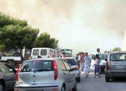 Лесные пожары выжигают всю южную Европу