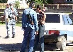 В Ингушетии подорван автомобиль милиции