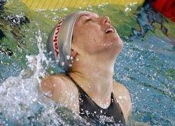 Россиянка установила рекорд в плавании на спине