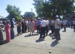 В Дагестане жители перекрыли федеральную трассу