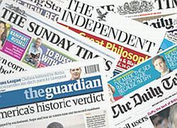 Британская пресса не любит Россию