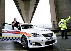 Британские полицейские выбирают Лексус