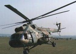В Якутске перевернулся вертолет Ми-8