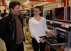 В РФ впервые за пять лет меньше покупают электронику