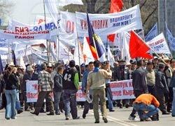 В Киргизии запретили все митинги на время саммита ОДКБ