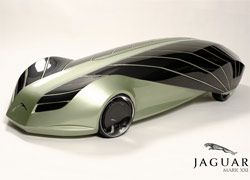 Jaguar создал концепт автомобиля на солнечной энергии