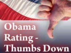 В США стремительно снижается популярность Обамы