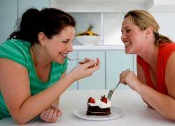 Толстые друзья способствуют набиранию веса