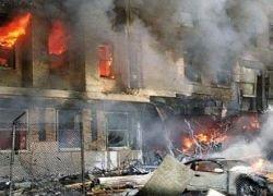 Из-за взрыва на заводе Франции ранены 46 человек