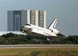Endeavour успешно приземлился во Флориде