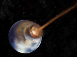 Найдены следы кометы, изменившей климат