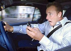 Отправка SMS за рулем - самое опасное занятие