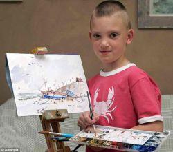 Маленький художник-гений