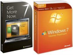 Стали известны цены на Windows 7 Family Pack