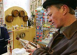 В России два национальных достояния — газ и водка