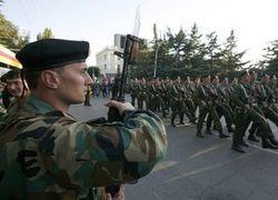 Россия начала военные учения в Южной Осетии