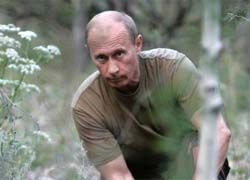 Путин сплавился по реке в Тыве и пообщался с чабаном
