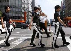 В Японии показали робокостюм для инвалидов