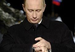 Как опаздывает Путин