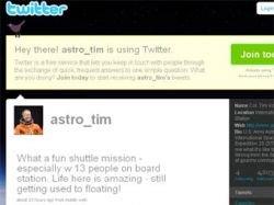 Астронавт завел на орбите свой блог