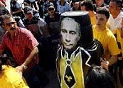 """Турецкие \""""зеленые\"""" устроили антипутинский митинг"""