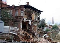 В Екатеринбурге рухнула стена жилого дома