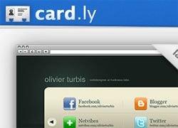 Card.ly – сервис по созданию электронной визитки