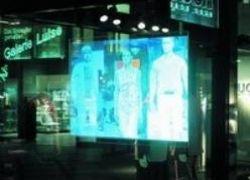 В Японии создали трехмерный голографический экран
