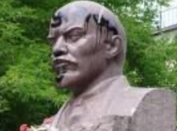 В Калужской области осквернен памятник Ленину
