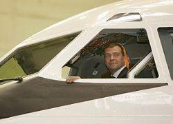 Медведев отказался летать на Sukhoi Superjet-100