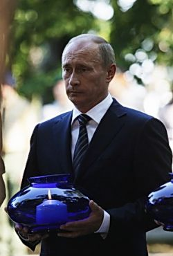Путин в Польше